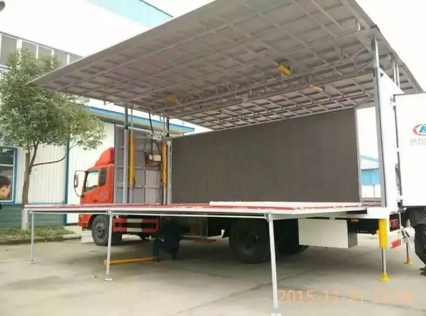 东风天锦大型7.5米舞台车图片