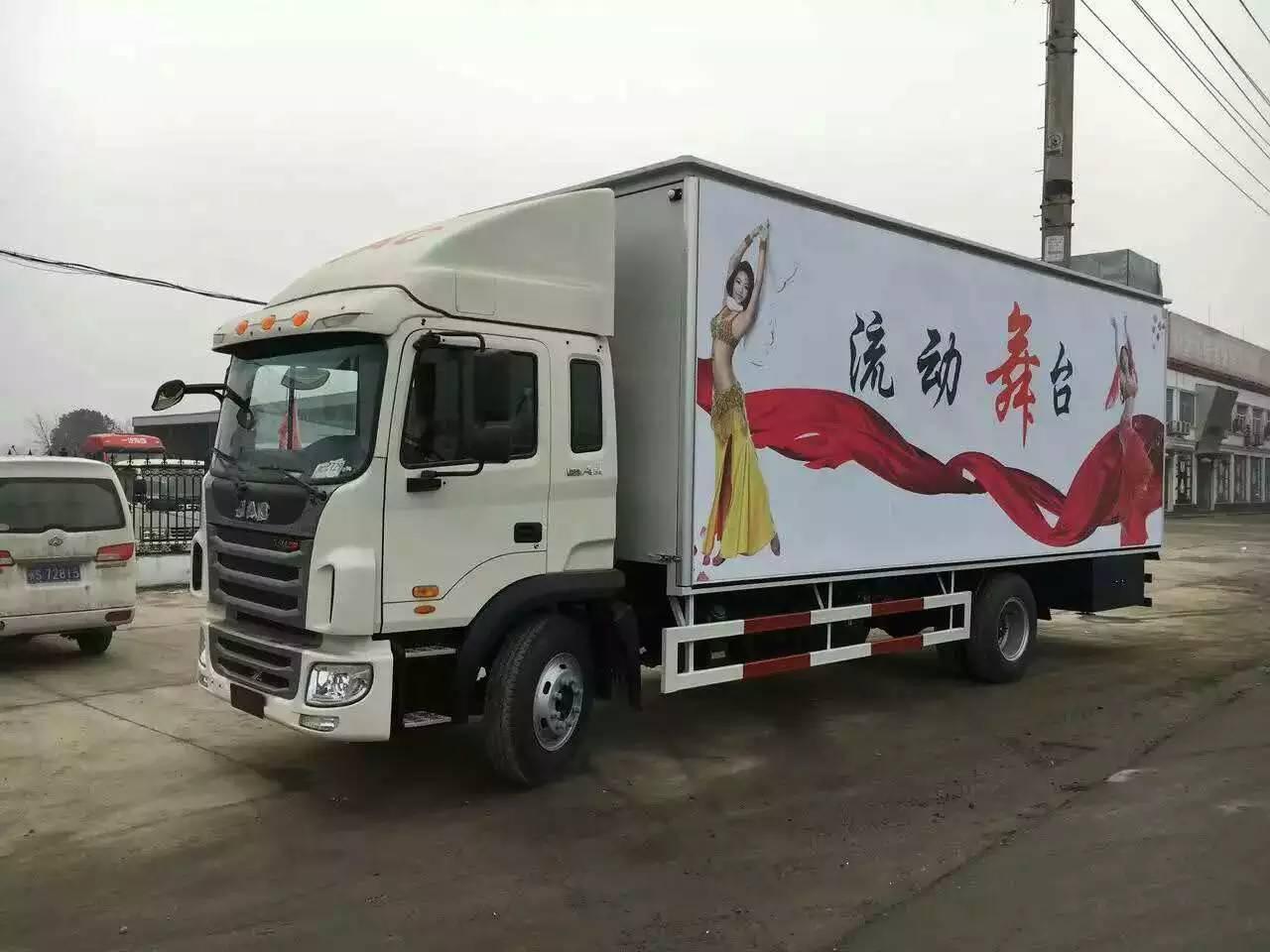 江淮格尔发大型单展舞台车