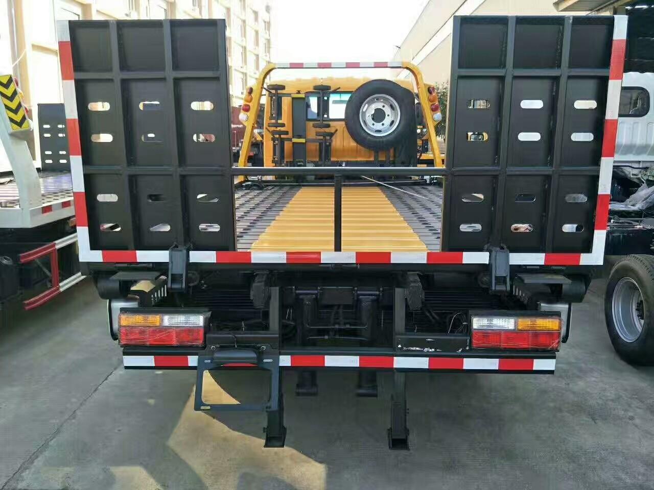 4吨-5吨一拖二黄牌清障车