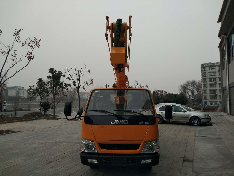 江铃顺达14米高空作业车图片
