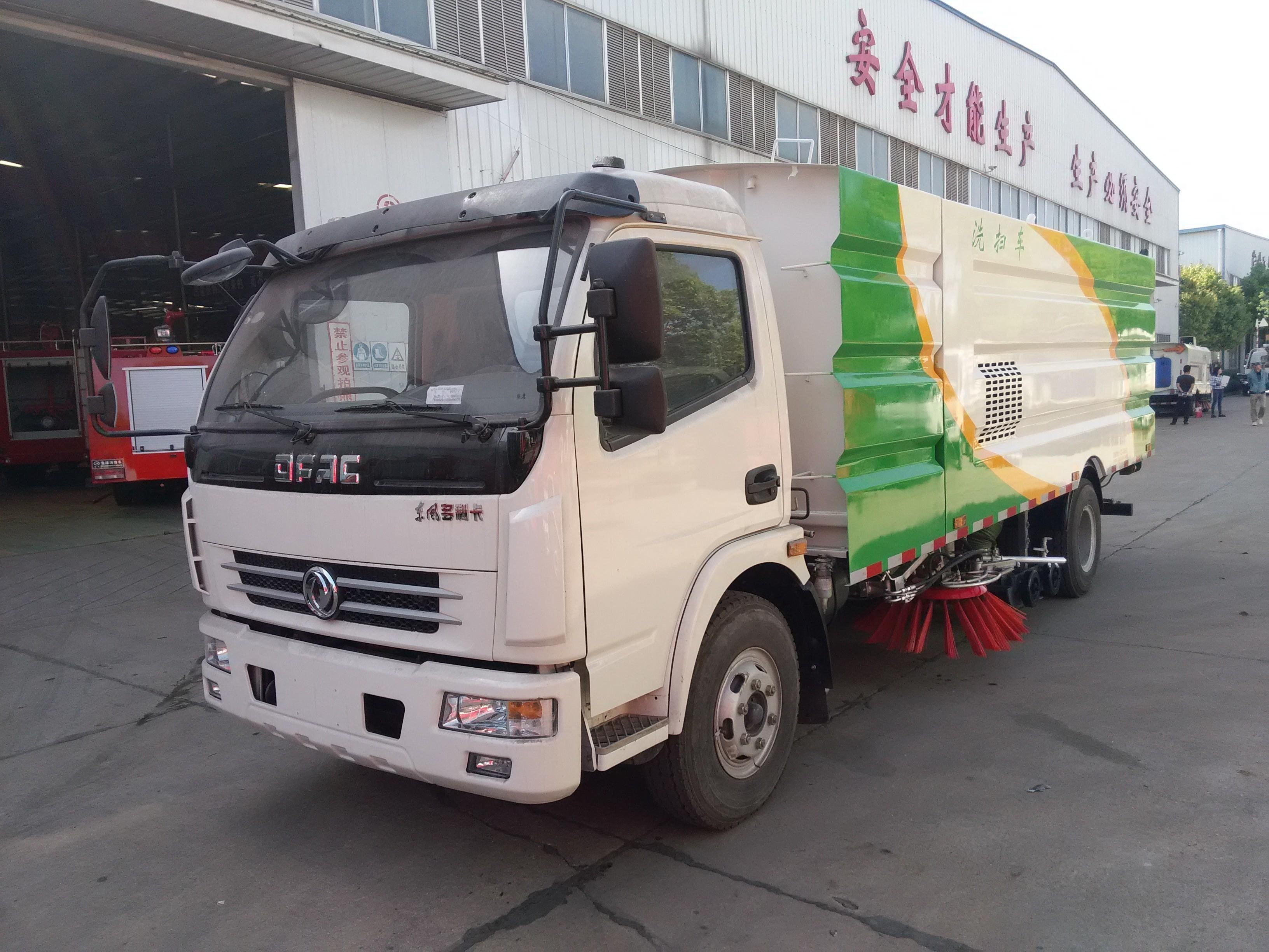东风多利卡国五洗扫车图片