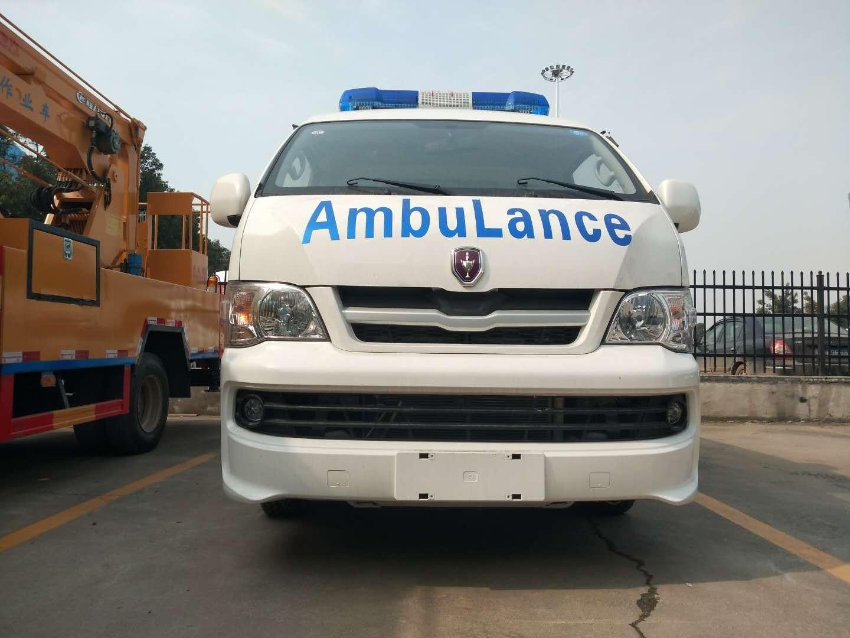 金杯新海狮救护车图片