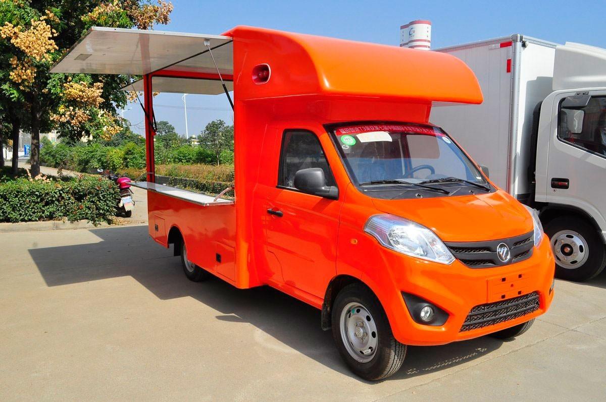 福田伽途T3国五流动售货车图片
