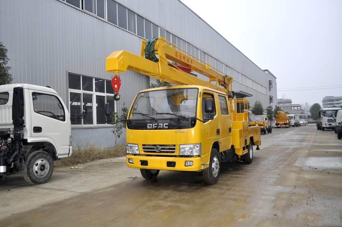 东风凯普特14米高空作业车图片