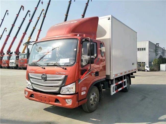 4米2冷藏车(欧马可红色经典款)图片