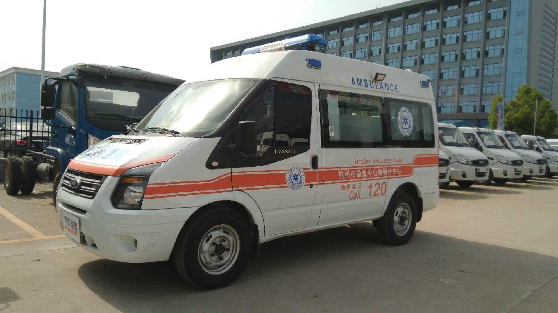 江铃福特救护车图片