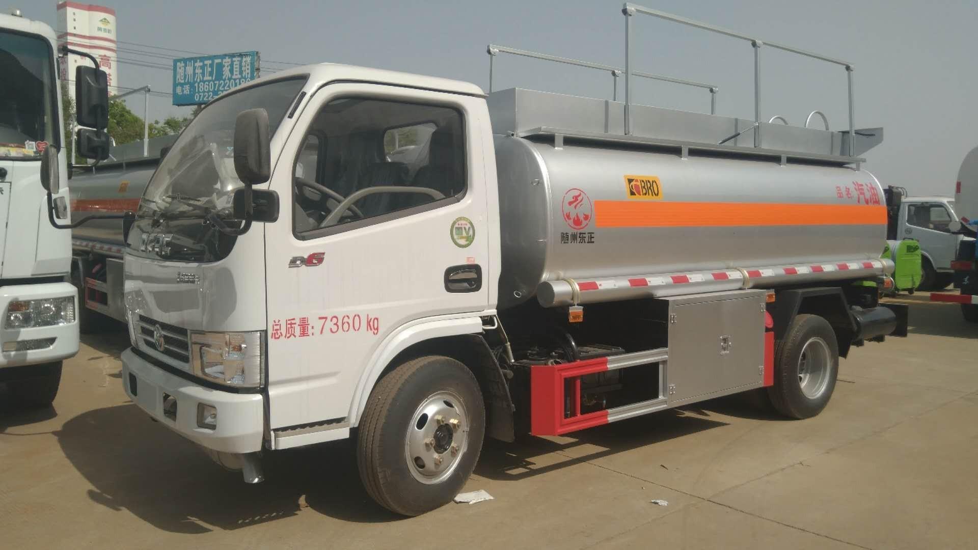 东风多利卡d6运油车图片