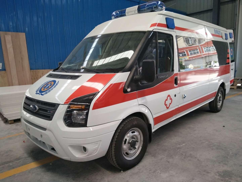 福特全顺长轴救护车图片