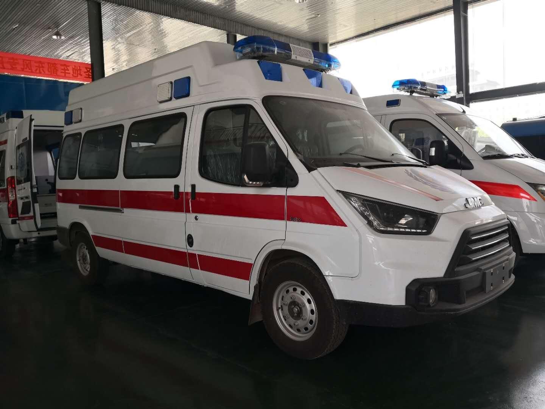 福特全顺救护车图片
