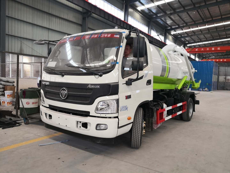 东风8吨清洗吸污车图片