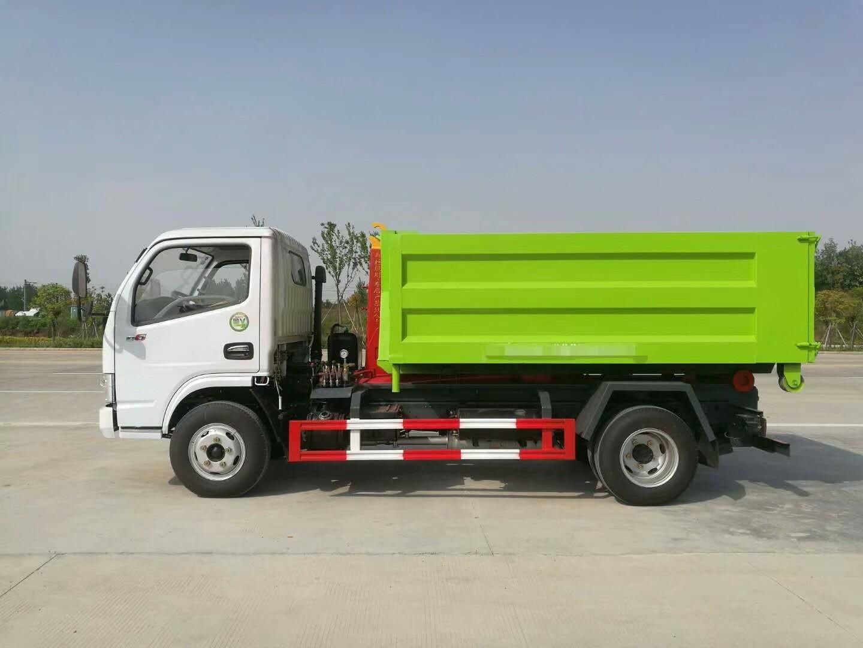 东风小多利卡自卸式垃圾车图片