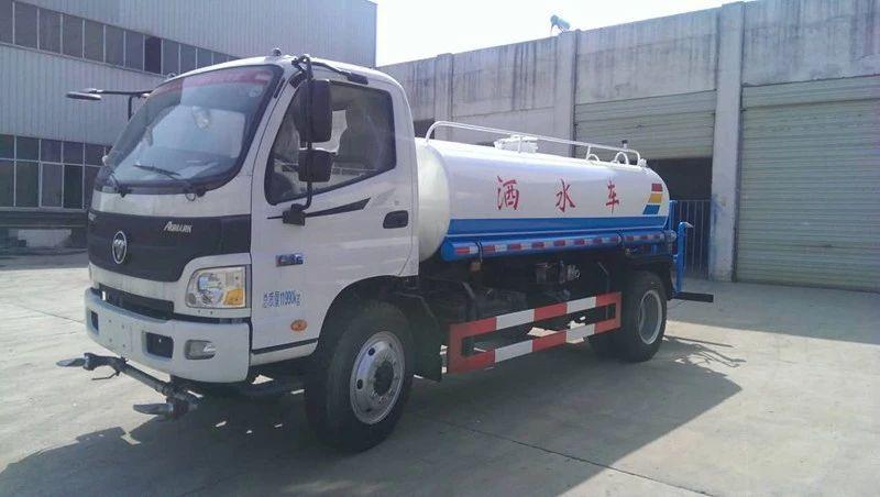 福田欧马可5吨洒水车图片