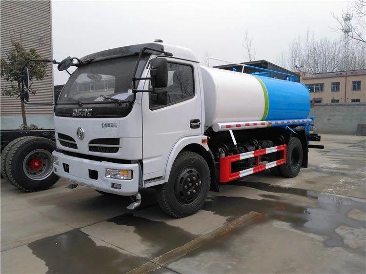 东风福瑞卡9吨洒水车图片