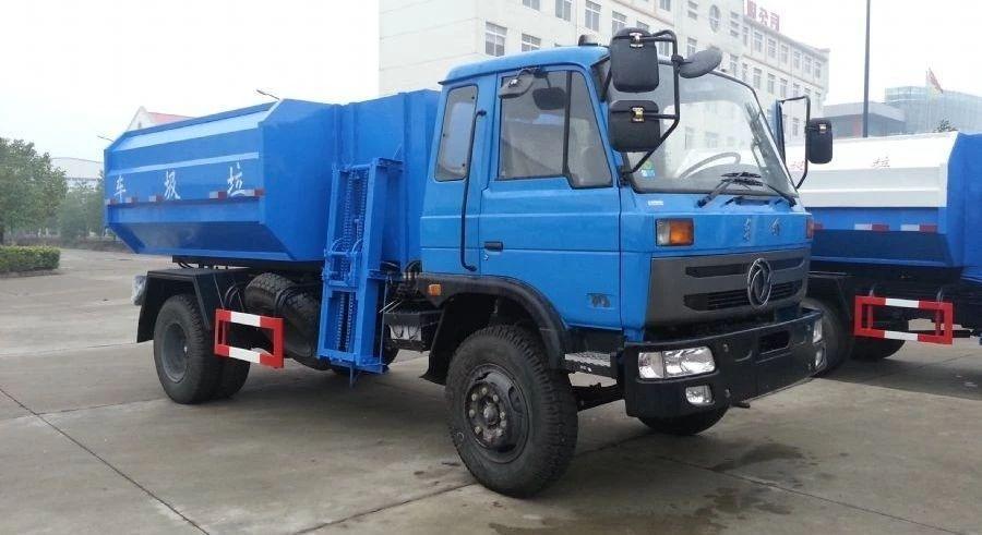 东风153自装卸式垃圾车图片
