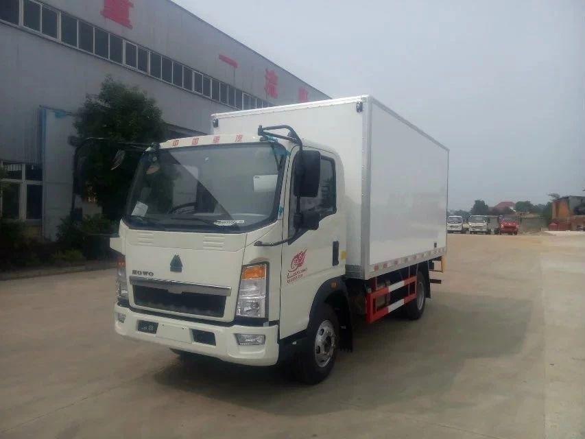 (国六)重汽豪沃4米2冷藏车