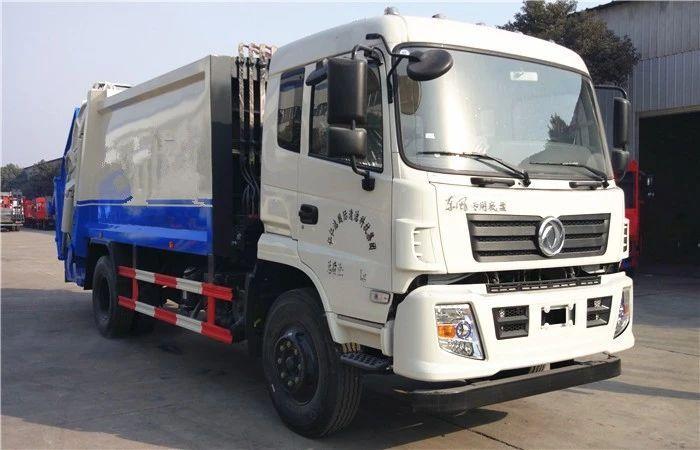 东风专底压缩式垃圾车图片