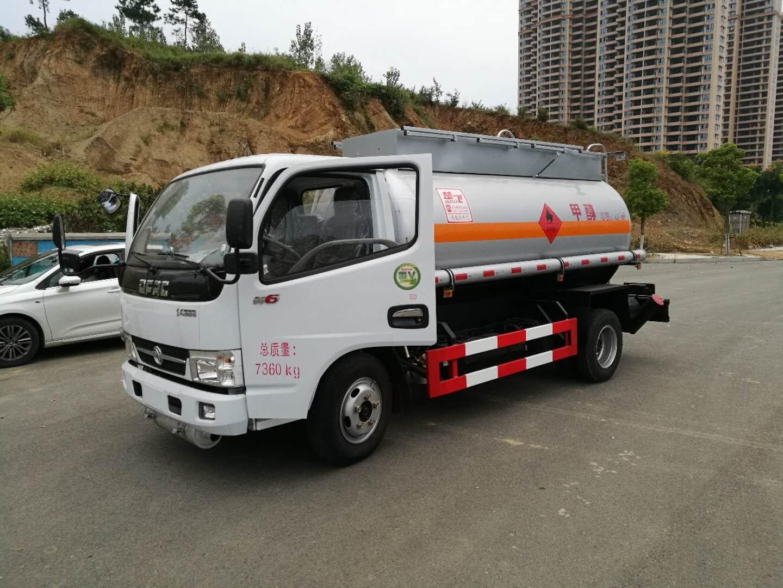 东风多利卡5吨甲醇运输车图片
