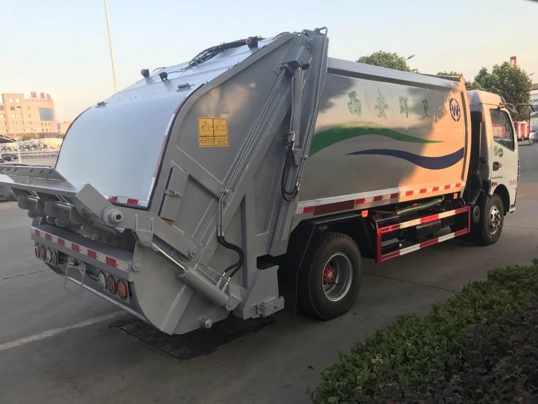 东风大多利卡8吨压缩式垃圾车图片