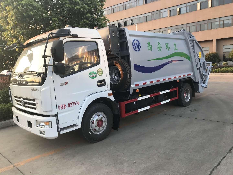 东风大多利卡8吨压缩式垃圾车