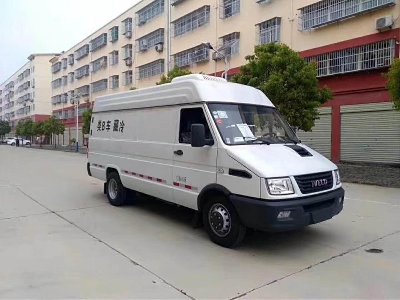 南京依维柯冷藏车图片