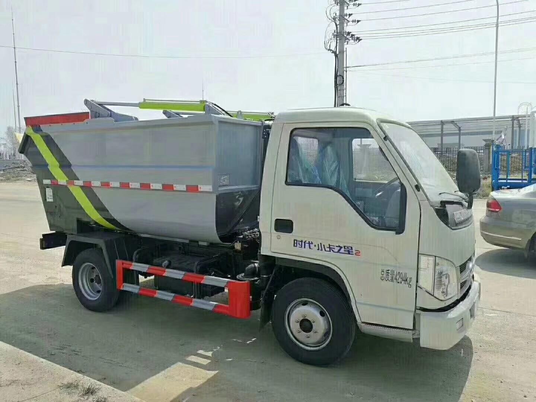 福田时代垃圾车图片