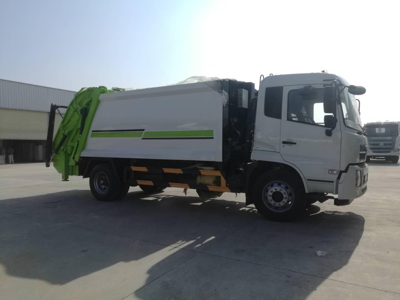 东风天锦14方压缩垃圾车图片