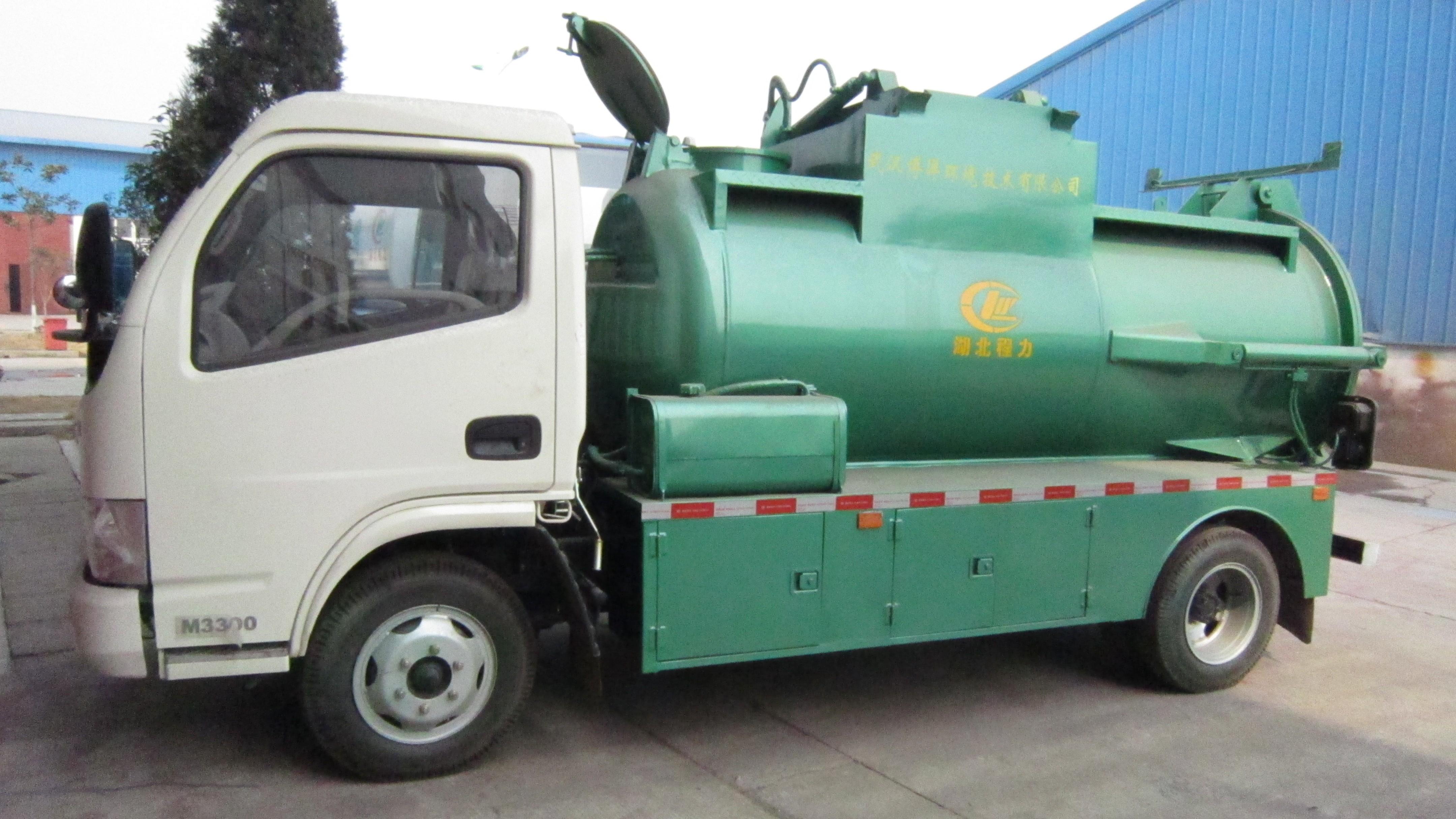 东风餐厨垃圾车图片