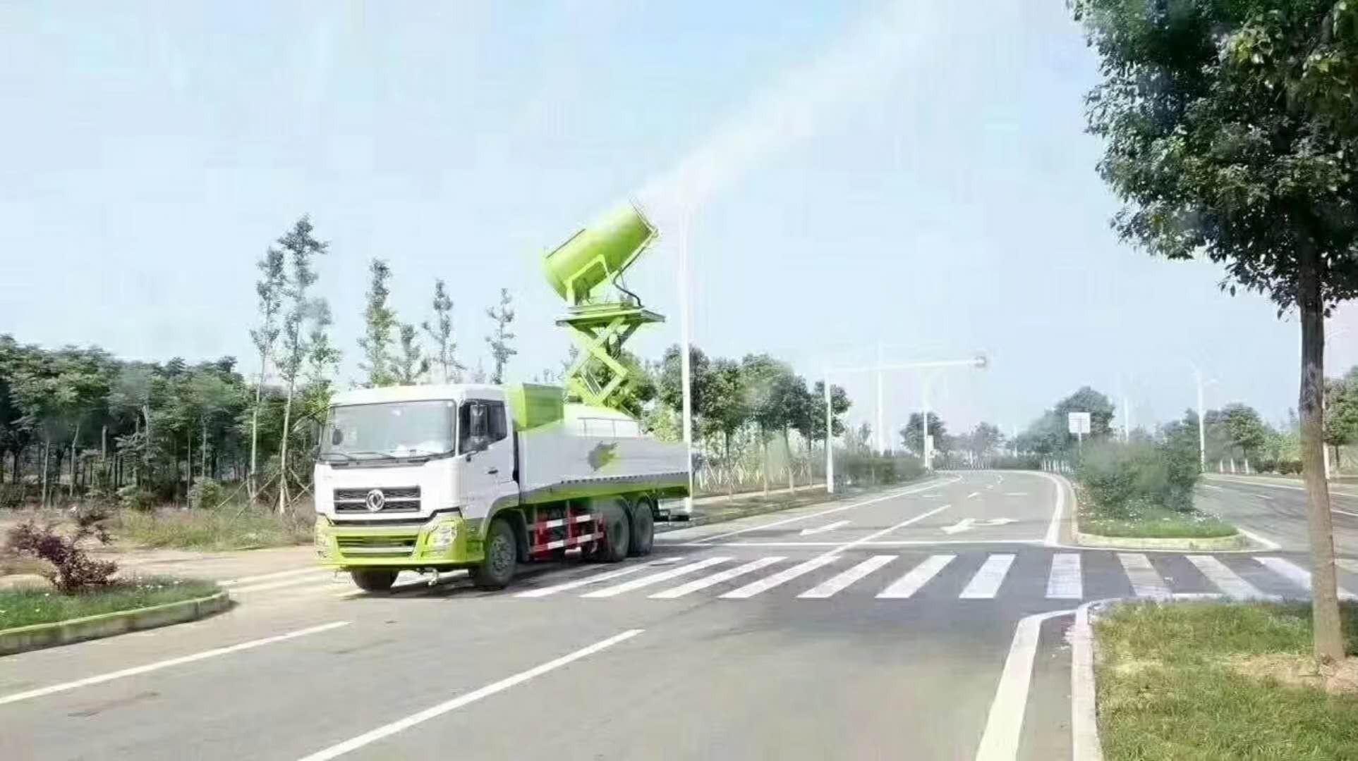 东风天锦雾炮车图片