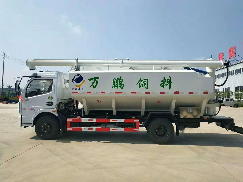 东风多利卡(12方/6吨)散装饲料运输车图片