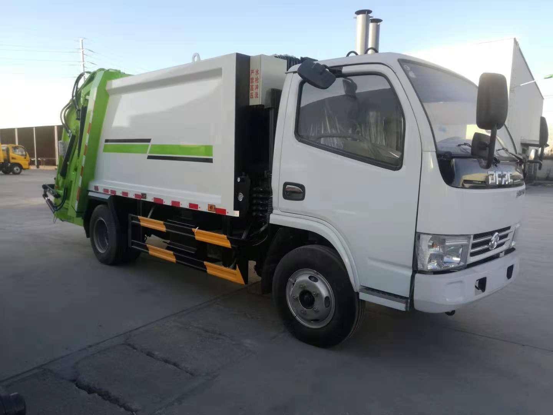 YZR5071ZYSE压缩式垃圾车