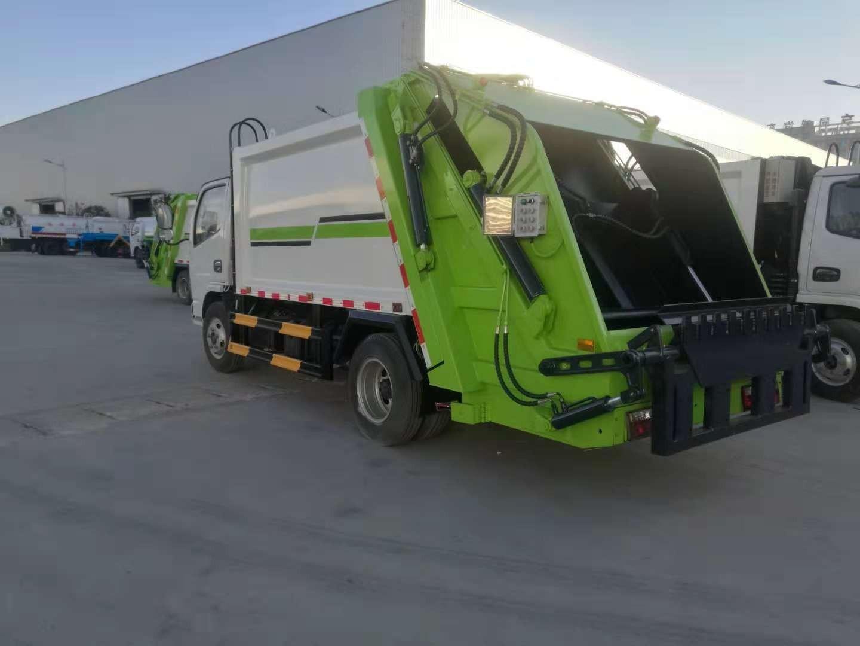 YZR5071ZYSE压缩式垃圾车图片