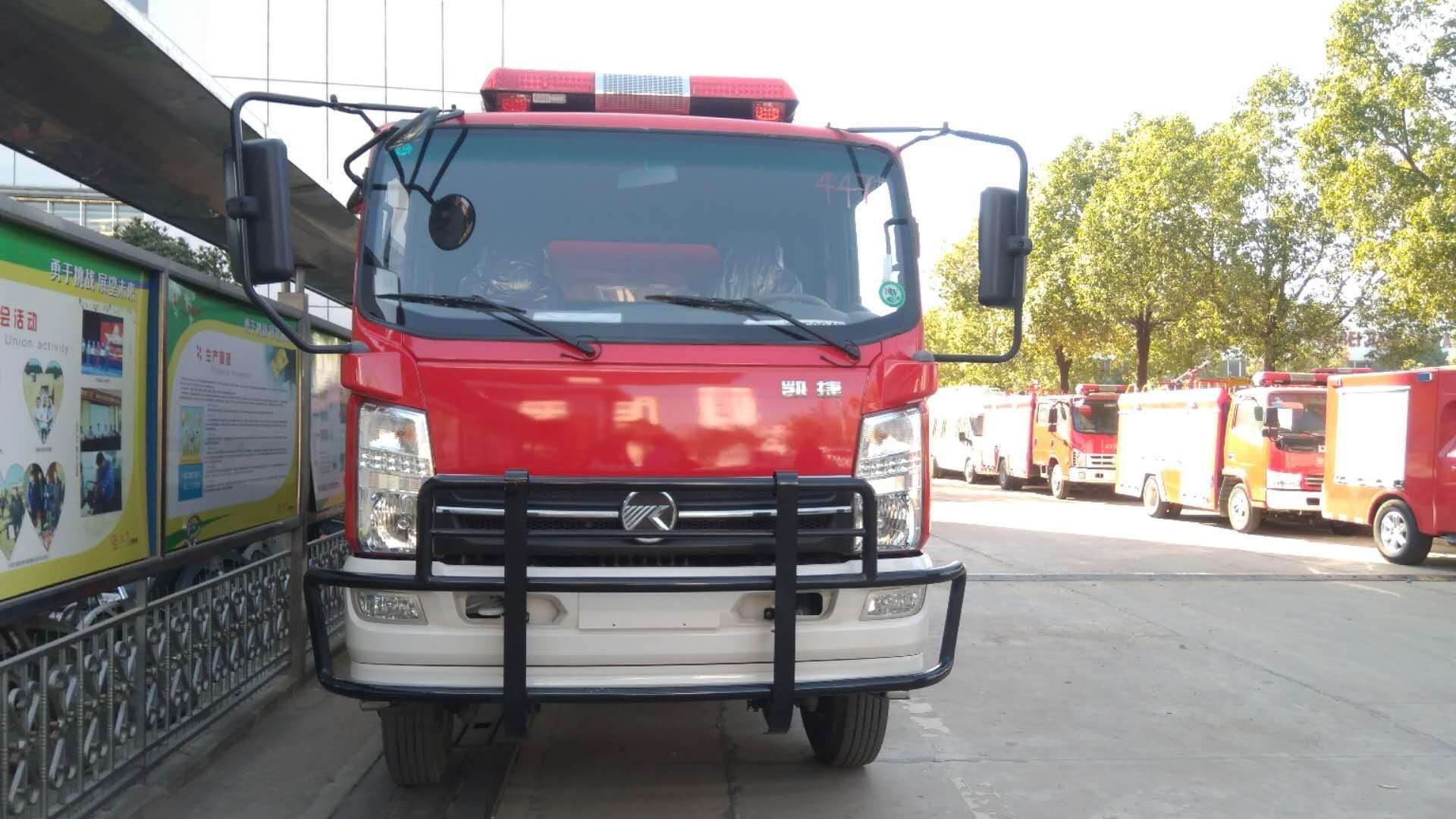 凯马凯捷消防车图片