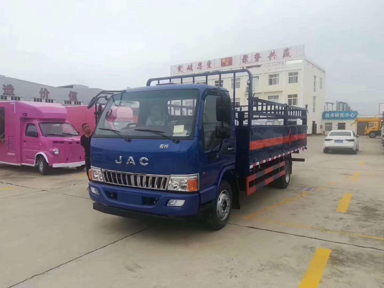 江淮气瓶运输车图片