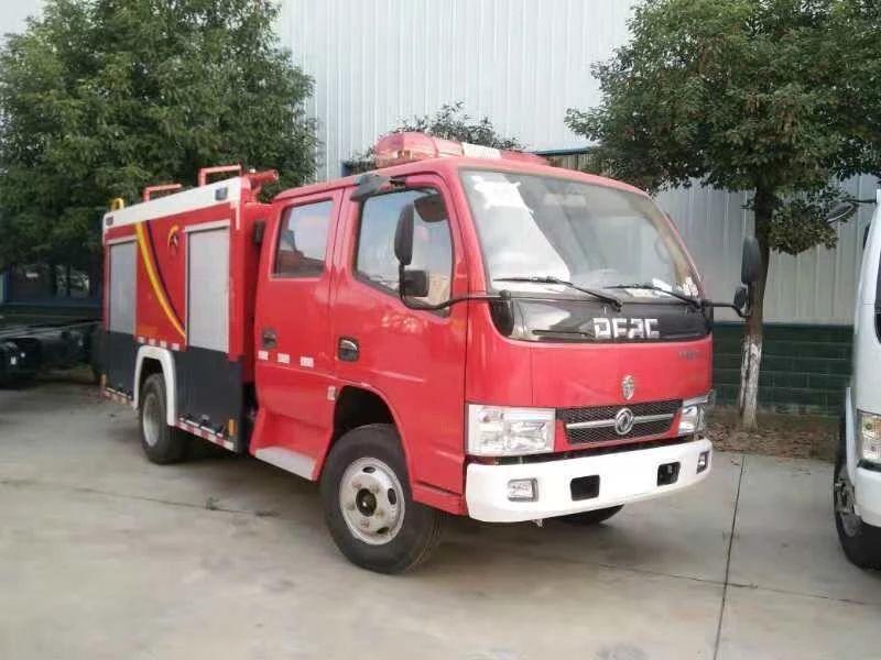 东风凯普特双排消防车