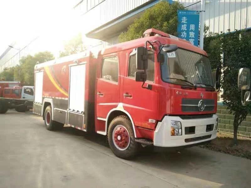东风天锦消防车图片