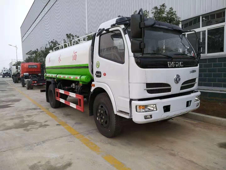 东风8吨环卫洒水车 水罐运水车厂家图片