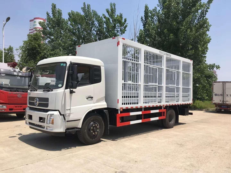东风天锦畜禽运输车图片