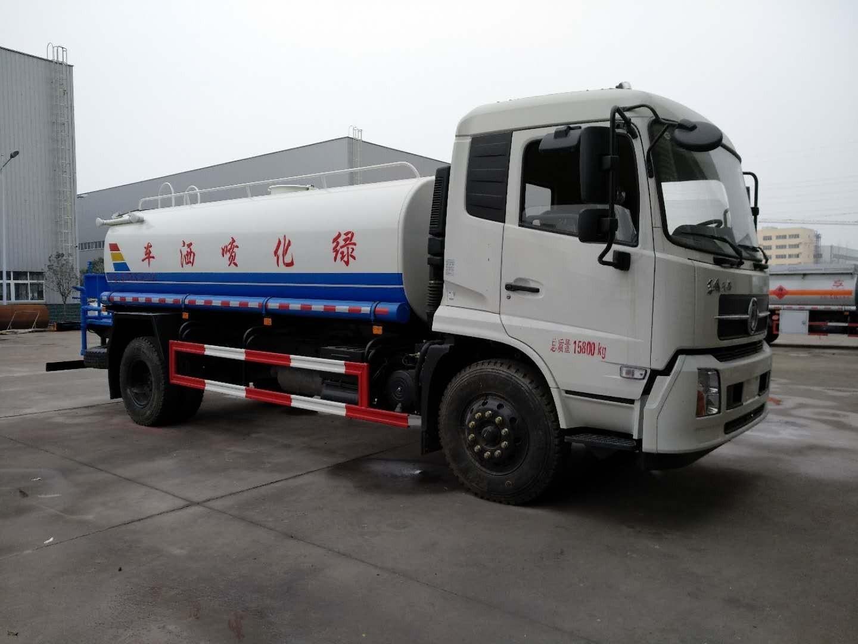 东风天锦12吨绿化喷洒车