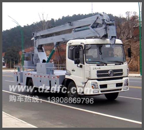 东风天锦高空作业车(22米三节)