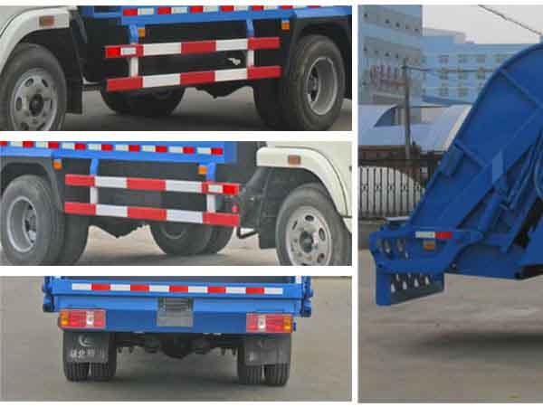 CLW5060ZYSN4壓縮式垃圾車_高清圖片
