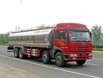 解放前四后八29方鮮奶運輸車|液態食品運輸車價格
