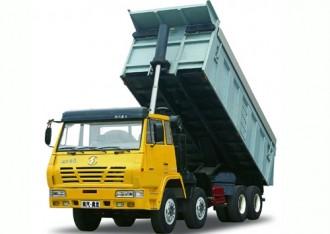 请问前四后八自卸车百公里耗油量是多少呢?