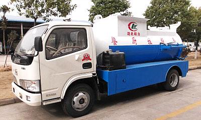 湖北合力餐厨垃圾车(泔水车)视频