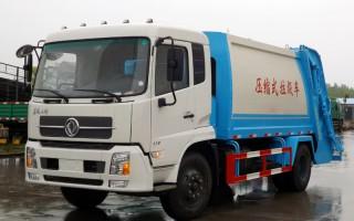 天锦-压缩式垃圾车车图片