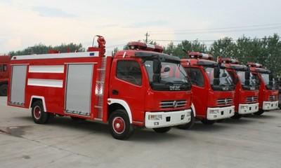 多利卡消防车视频