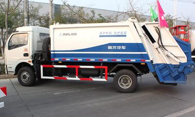 压缩式垃圾车视频