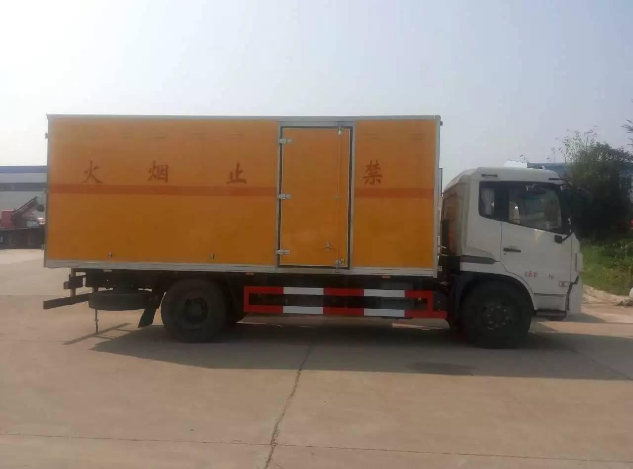 东风天锦爆破器材运输车图片大全__汽车家园网