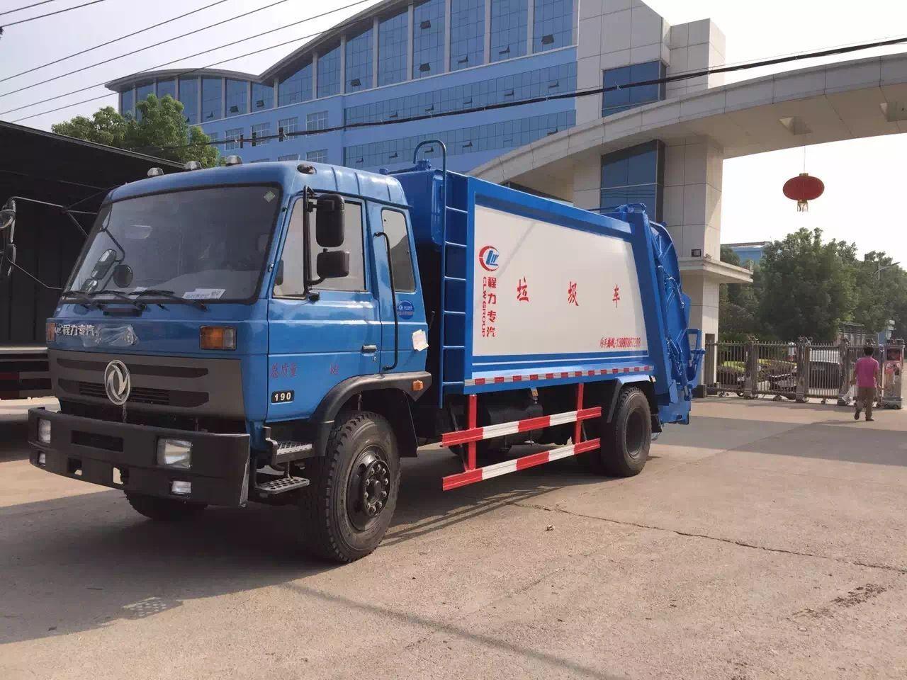 东风145压缩垃圾车图片