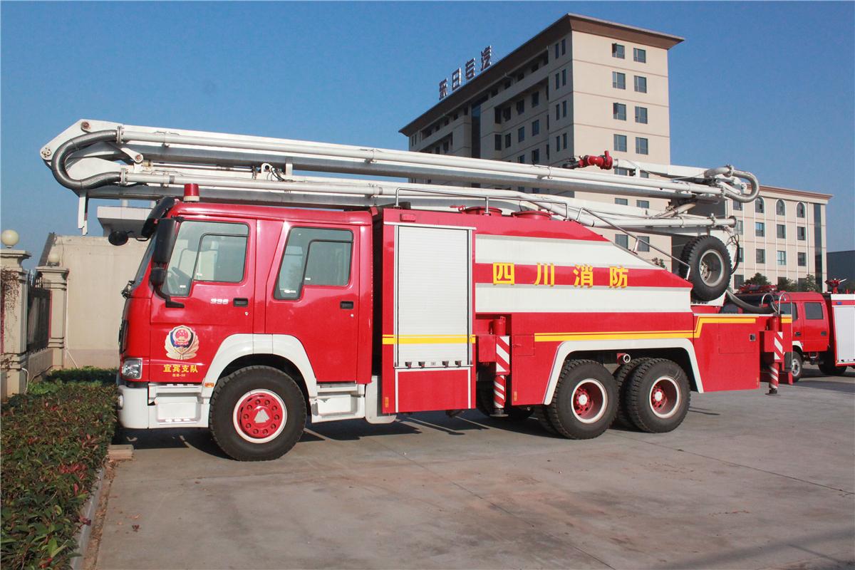 消防车图片大全__汽车家园网