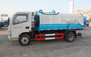 东风多利卡密封式垃圾车图片